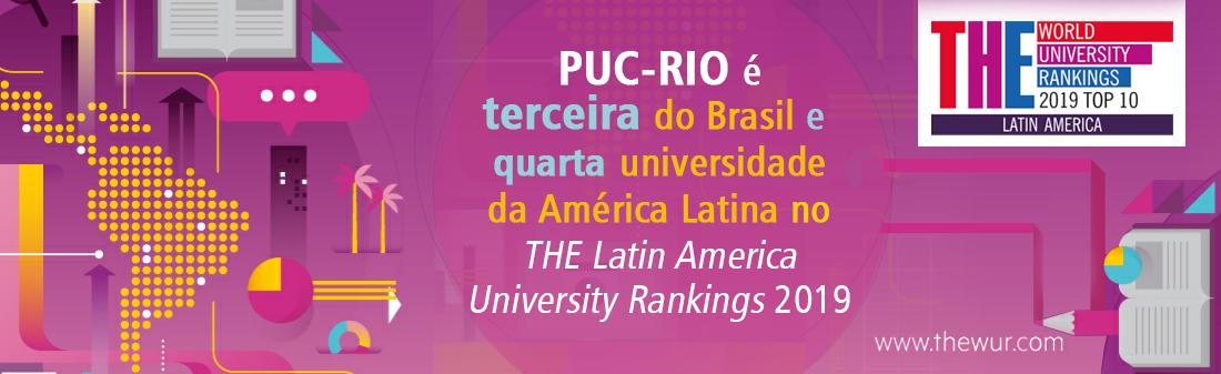 PUC-Rio, Rankings